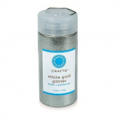 Martha Stewart Crafts Fine Glitter, White Gold, 140mls