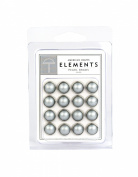 American Crafts Elements Pearl Brads, Silver