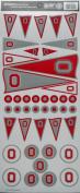 Sports Solution Ohio State Pennant Decorative Sticker