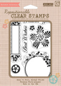 Hero Arts Rubber Stamps Luscious Frames Clear Stamp Set