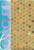 Creative Paper Circles Paper for Card Making, 215gm, Gold