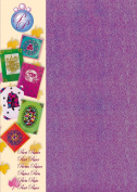 Creative Paper Pearl Paper for Card Making and Scrapbooking, 215gm, Purple