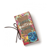 Demdaco Brave Girl Love Matters Most Billfold Journal