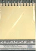 6 X 8 Memory Book (Ivory)