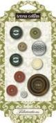 Teresa Collins Designs Fabrications Linen Buttons