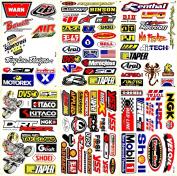 Dirt Bike Motocross Motorcycles Supercross ATV Lot 6 Vinyl Decals Stickers D6017