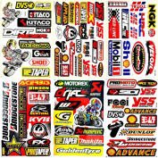 Motorcycles Motocross Dirt Bikes Jet ski Lot 6 vinyl decals stickers D6036