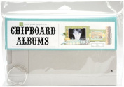 Echo Park Paper Chipboard Album 6'X10' Rectangle