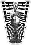 The Mars Volta Chalice Man Sticker