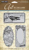 Hero Arts Art of the Card Journal de Voyage Cling Stamp Set