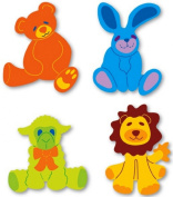 Sizzi by Sizzlits Die Set 4 Pack, Small Stuffed Animal
