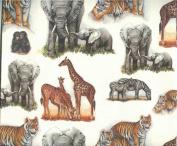 Wild Animals Gift Wrap Paper