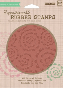 Hero Arts Rubber Stamps Sweet Threads Spirals Cling Stamp Set