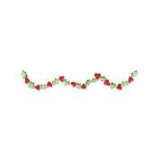 Sizzix Sizzlits Decorative Strip Die-Holly With Berries Garland