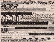 Hero Arts Pattern Stripes Woodblock Stamp
