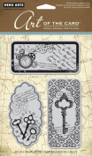 Hero Arts Art of the Card Untitled Key Cling Stamp Set