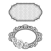 Hero Arts Cling Stamps - Garden Frames