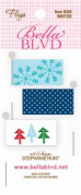 Bella Blvd Winter Paper Stick Pin Flags