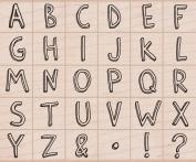 Hero Arts Informal Letters Woodblock Set