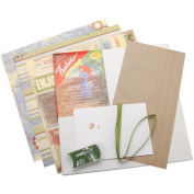 Quick Quotes Enjoy Life Canvas Wall Kit, 30cm by 30cm by 2.5cm