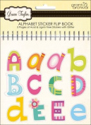 Grant Studios GT1591 Grace Taylor Glitter Alphabet Sticker Flip Book-5 Pages
