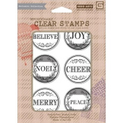 Believe Repositionable Clear Stamps // Hero Arts