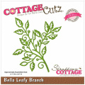 CottageCutz Elites Die 7.9cm x 8.9cm -Bella Leafy Branch