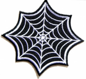 Spiderman Web SuperHero Marvel Comics Movie Logo Kid Polo T shirt Patch Sew Iron on Embroidered Badge Costume