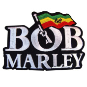BOB MARLEY MUSIC Guitarist Ska Rocksteady Embroidered Iron On Patches WITH.