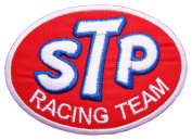 STP Racing Team Gas oil treatment Nascar Sign Clothing GS09 Patches