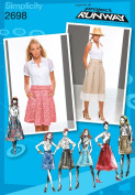 Simplicity Pattern 2698 Project Runway Misses' Skirts Size D5