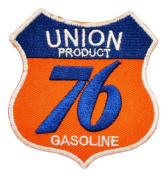 UNION 76 Gas station Oil gasoline Signs Shield GU01 Iron on Patch