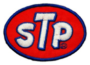 STP Gas fuel cleaner oil treatment Logo t Shirts GS05 Patches