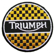 Triumph Vintage Motorcycles Biker Logo Clothing BT21 Sew Iron on Patches