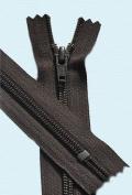 60cm Boot Zipper YKK #5 Nylon Coil ~ Closed End ~ YKK Colour 570 Brown