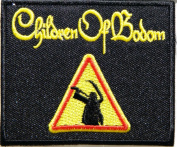 Children Of Bodom Rockabilia Punk Rock Music Band Jacket T-shirt Logo Patch Sew Iron on Embroidered Badge Sign