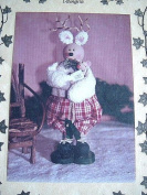 RUDY AND CO. 22cm STANDING REINDEER SEWING PATTERN FROM ABBEY LANE