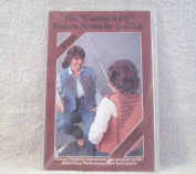NEW STILL IN FACTORY SEALED BAG-1983- A [ CUT UP ] -AN EASY TO MAKE VEST 4 DIFFERENT WAYS TITLED [ HEART HOOP ] FROM [ YOURS TRULY ] ITEM # 3981