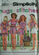 Simplicity Sewing Pattern 7774 Girls' Shorts & Tops, BB