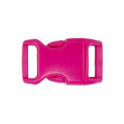 Springfield Leather Company 1.6cm Hot Pink Contoured Side Release Plastic Buckles 10 Pack