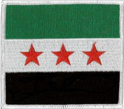 "Syria, Syrian SNC - Free Syrian Army (embroidered) Patch 4""x 3 1/2"""