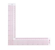 Westcott LetterCraft 8-Inch/17cm L-Square Inch/Metric (L-808)