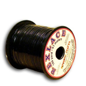Springfield Leather Company's Rexlace Black Plastic Lace