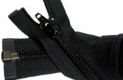 Sale 250cm Sleeping Bag Separating Zipper (Special) YKK #5 Nylon Coil Zipper ~ Black