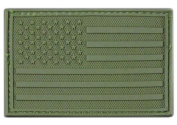 Rapid Dominance Tactical Rubber Patch - USA Flag Olive
