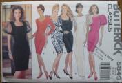 Butterick Pattern 5849 Classics Misses' Dress Size 18-20-22