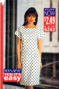 Loose Fitting Dress See & Sew 6243 Sewing Pattern Size 6 - 8 - 10 - 12 - 14