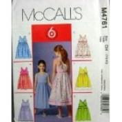 McCall's Pattern #M4761 SIZE