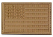 Rapid Dominance Tactical Rubber Patch - USA Flag Coyote