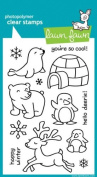 Lawn Fawn Clear Stamps 10cm x 15cm -Critters In The Snow